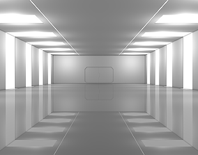 3D asset Sci Fi Warehouse