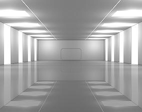 3D asset Sci Fi Warehouse