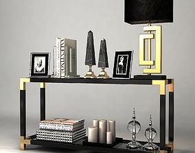 3D Console Table Royalton Eichholtz
