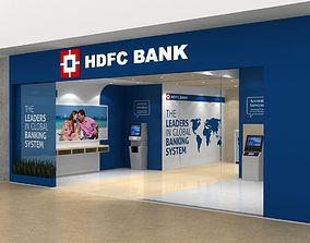 BANK LOBBY DESIGN 3D