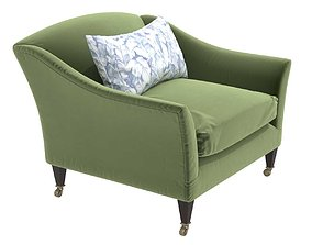 DRAWING ROOM ARMCHAIR BY ROSE UNIACKE 3D model