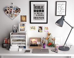 Desk decoration 3D