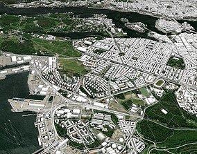 Cityscape Stockholm Sweden Europe 3D