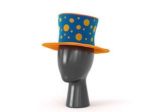 Clown Hat 03 3D model