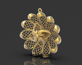 Ultra Fusion Pendant STL 3d model for 3d printing 093