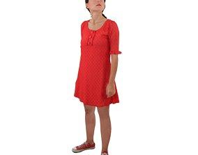 No368 - Female Standing 3D model