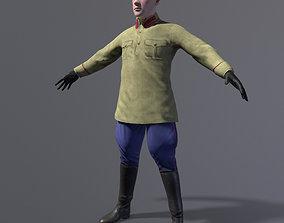 Nkvd investigator officer 3D model