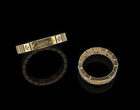 Engagement Ring 003 3D printable model