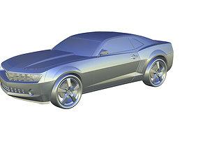 CAMARO 2015 3D printable model