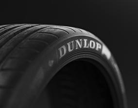 3D Tyre Dunlop