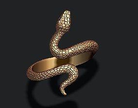 snake ring 3D print model stl