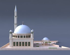 MOSQUE 3D dome muslim