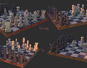 chess Chess 3D model game-ready