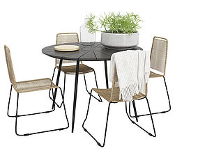 3D Outdoor furnitures 08