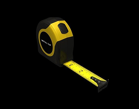 Measuring metal Tape 3D asset