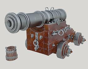 3D galeon Vessel cannon Unicorn