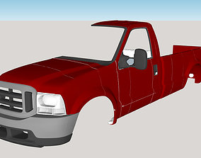 3D print model Ford F 350 SuperDuty 1999 Body