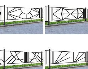 Lawn fences Part 3 3D