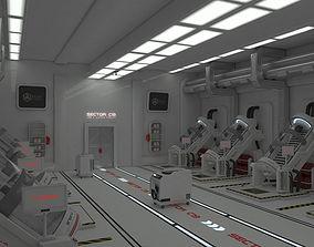 laboratory 3D landscape