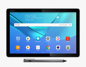 Huawei MediaPad M5 Lite 3D model
