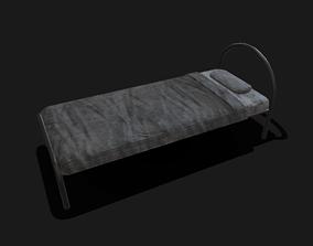3D asset PBR Bed Model
