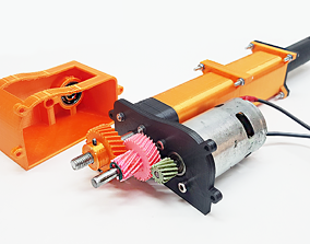 3D printable Linear Actuator mechanical