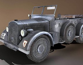 901 Kfz-15 Military Car 3D asset
