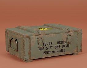 Ammunition Box RG-42 3D model