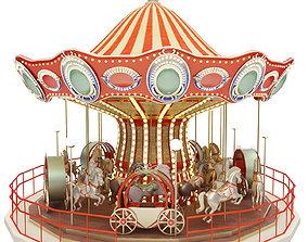 fun carousel 3D