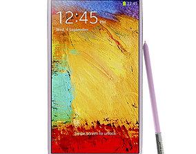 3D Samsung Galaxy Note 3 Neo Pink