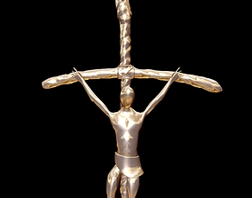 Popes Crucifix 3D model