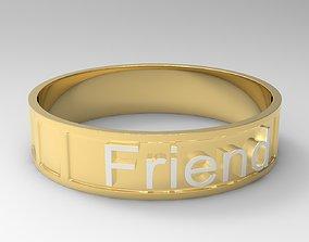 3D printable model Friend Bracelet