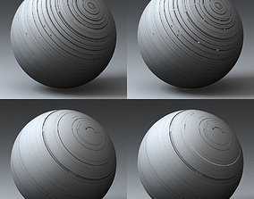 3D Syfy Displacement Shader F 001 d