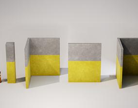 Modular Parking Garage - STARTER PACK 3D asset