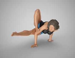 Strong and Balanced Woman 3D print model