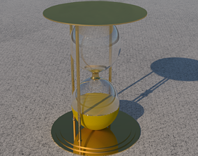 architectural 3D model Hourglass