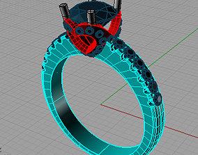 3D printable model Solitaire 8
