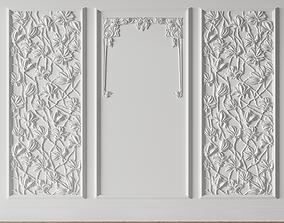 3D model Modern Magnolia Panel