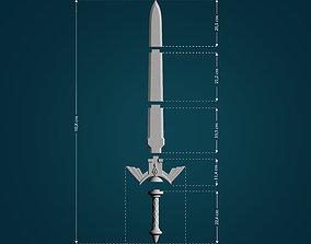 Master Sword from Legend Of Zelda 3D print model
