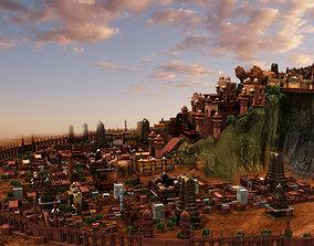 fort city heaven 3d model