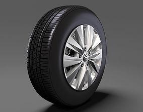 3D VW Crafter Van 2017 wheel