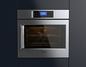 3D Bosch 30 Single Wall Oven