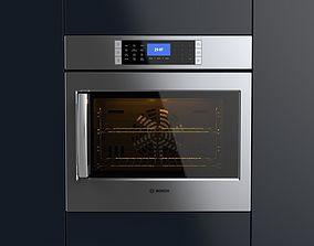 3D Bosch 30 Single Wall Oven
