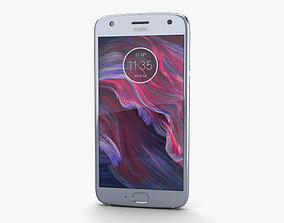 Motorola Moto X4 Sterling Blue 3D