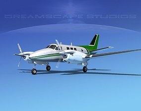 3D Beechcraft King Air C90 V13