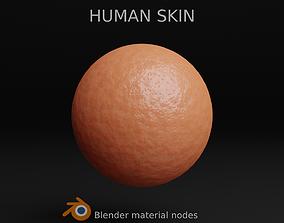 3D model Human Skin Material material