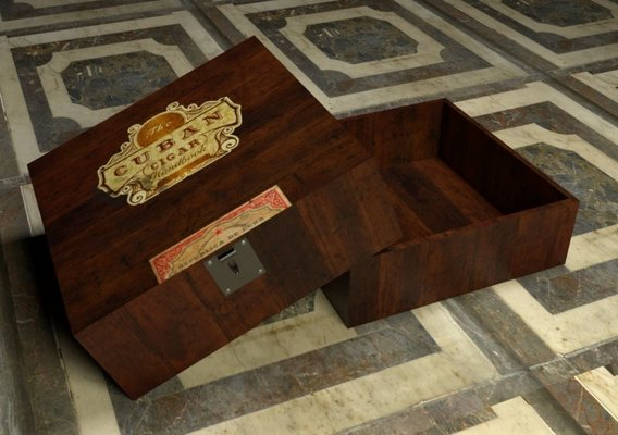 Cuban Cigar Box