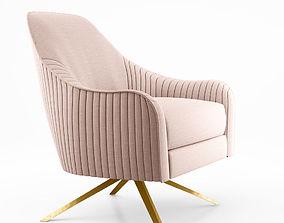 West Elm Roar Rabbit Swivel Chair 3D