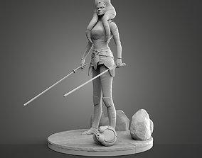 3D print model jedi Ahsoka Tano