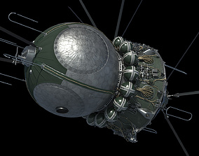 3D model Spacecraft Vostok 1